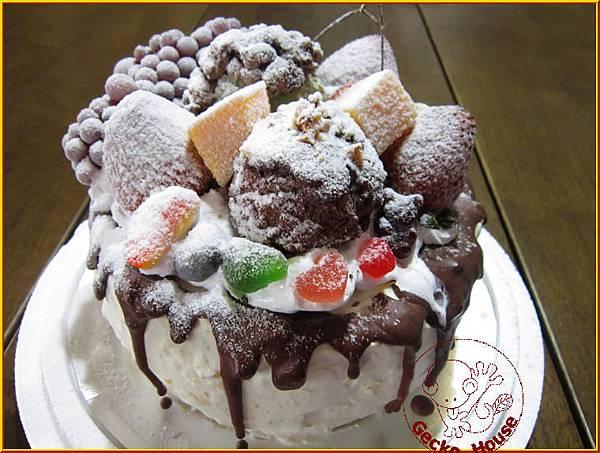 繽紛雪藏水果冰淇淋