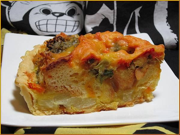 鮭魚法式鹹派