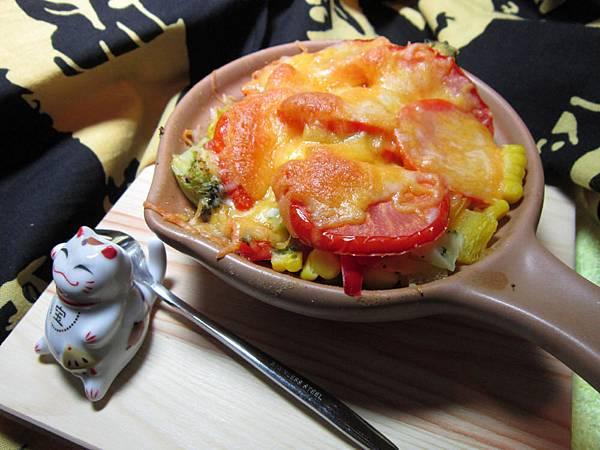味增蔬焗烤