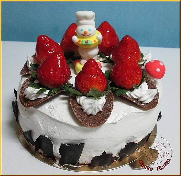 奇異果巧克力蛋糕