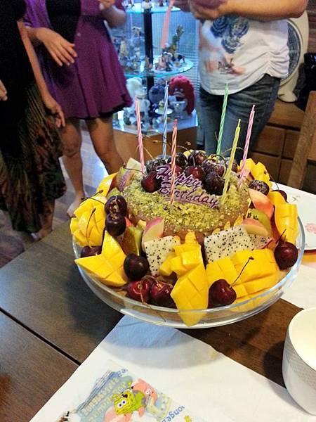 南瓜戚風乳酪6吋水果蛋糕