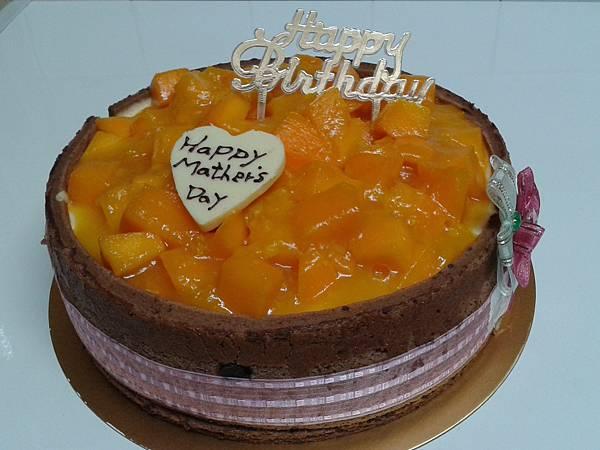 芒果慕斯8吋蛋糕