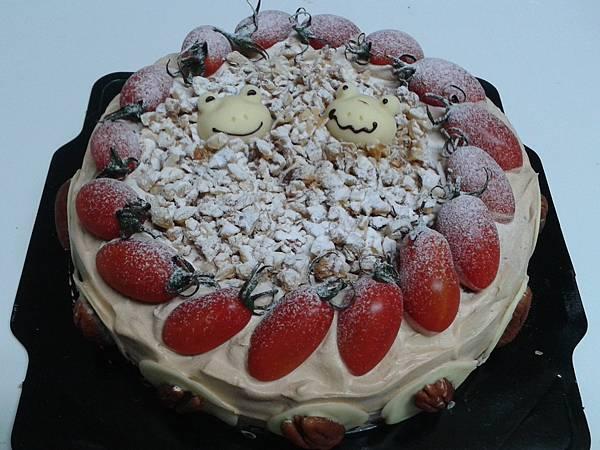 摩卡焦糖核桃蛋糕