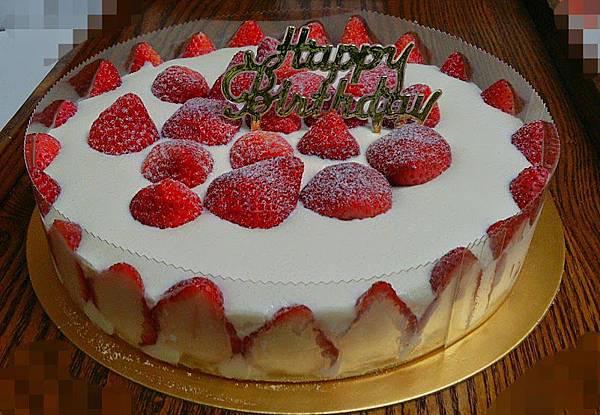 草莓優格生乳酪蛋糕