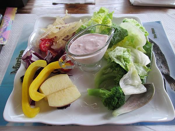 藍莓優格蔬果沙拉