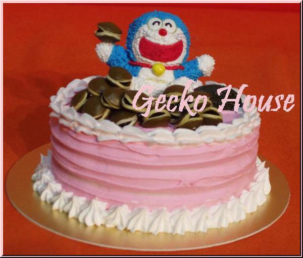小叮噹幸福滿滿鮮奶油蛋糕