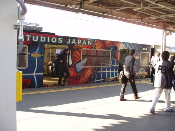 環球影城的彩繪列車