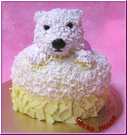 北海道奶油熊蛋糕