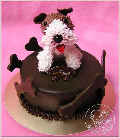 獵狐梗巧克力蛋糕