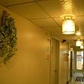 走廊壁面裝飾(左)