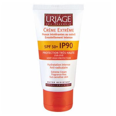 專業煥膚保養品介紹:URIAGE優麗雅IP90極緻防曬霜SPF50+
