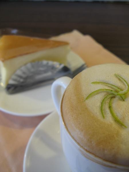 卡布奇諾+日式乳酪