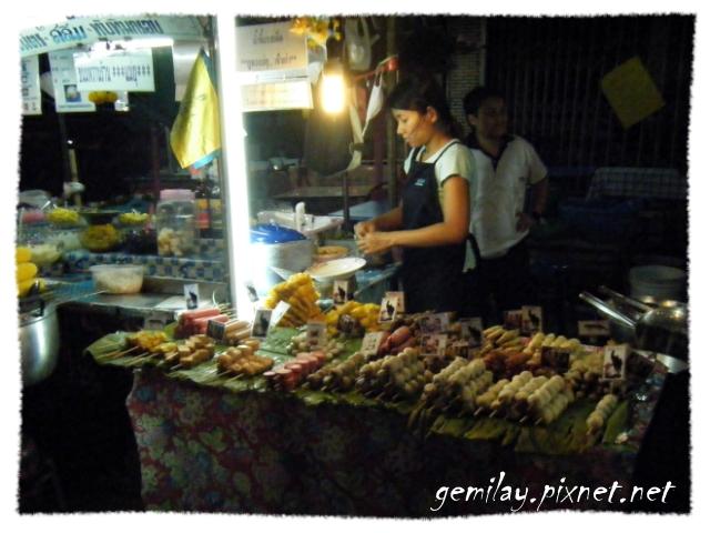 Pattaya夜市、小吃、超商考查