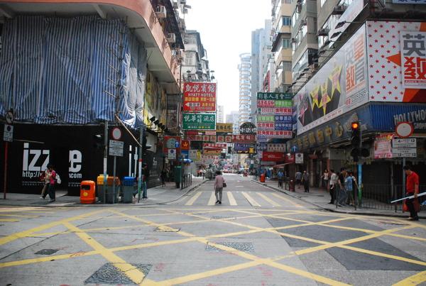 ㄧ大早的香港