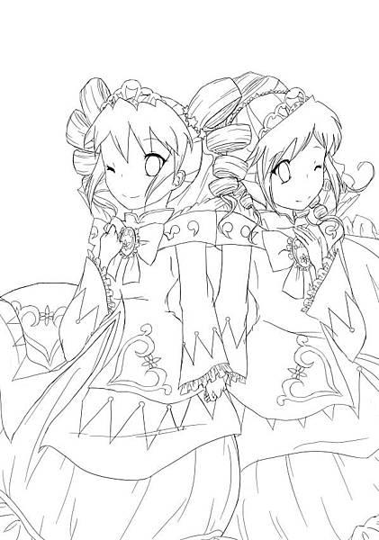 雙胞胎公主