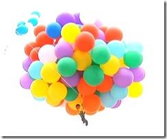 氣球飛上天