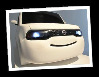 微笑的汽車