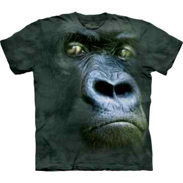 [摩達客] 美國進口3D立體動物T恤-黑猩猩 t shirt