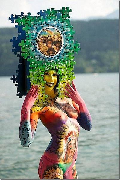 媲美萬聖節鬼妝的人體藝術-11
