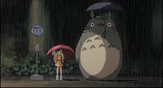 龍貓totoro-習性