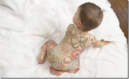 19030997:Logo紋身的可愛寶貝