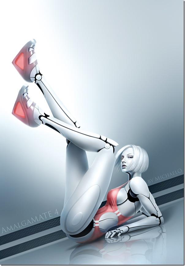 性感美女機器人-3