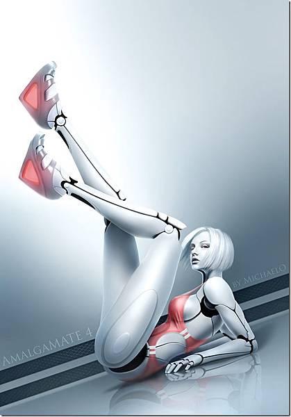 性感美女-機器人-3