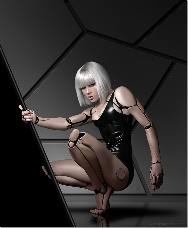 19135911:性感美女-機器人