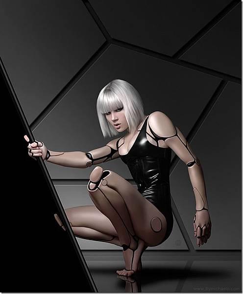 性感美女-機器人-2