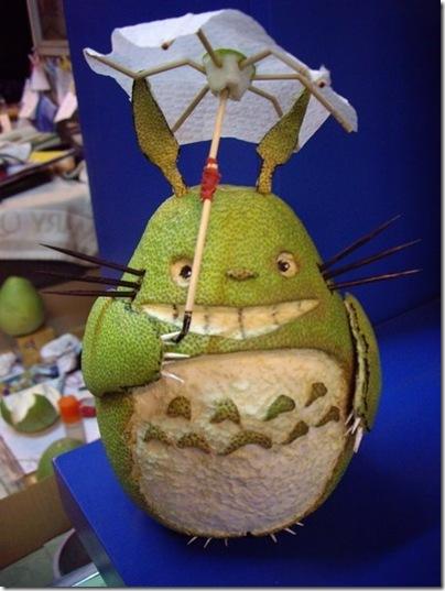 Totoro-柚子