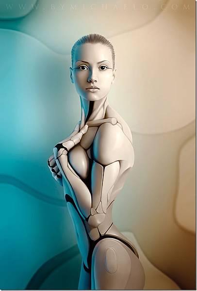 性感美女-機器人-4