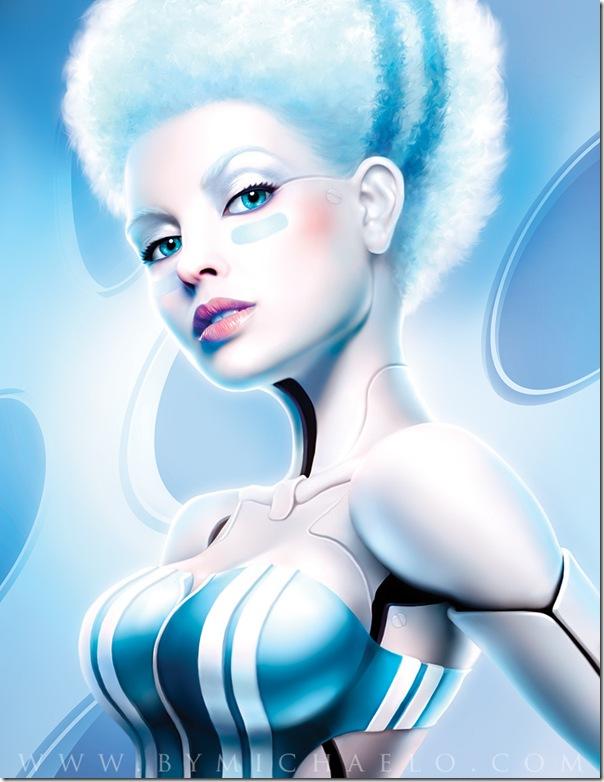 性感美女機器人-5