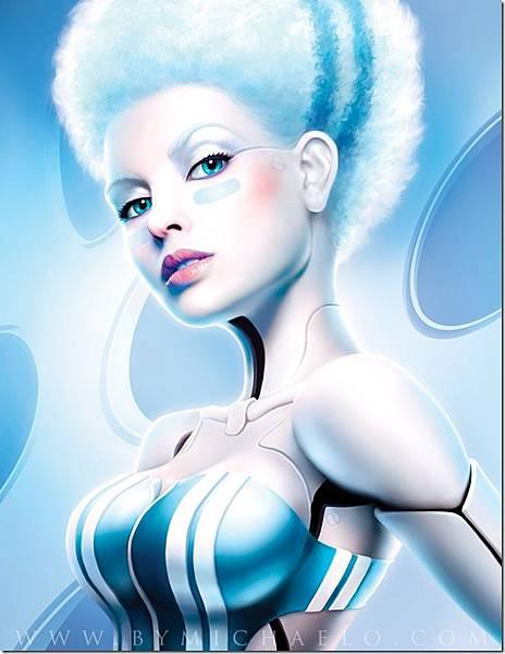 性感美女-機器人-1