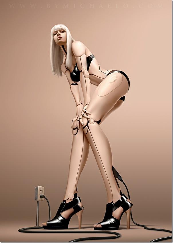 性感美女機器人-1