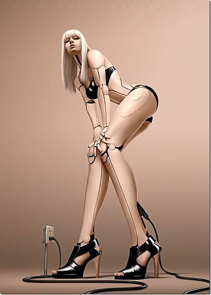 性感美女-機器人-5