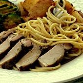 烤豬肉義大利麵 053