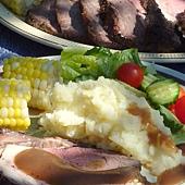 烤牛肉餐2