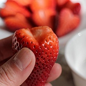 heart shaped strawberries 121