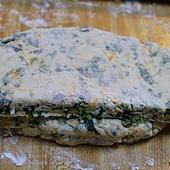 菠菜乳酪司康 066