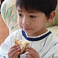 country bread and Joshua 048.JPG