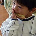 country bread and Joshua 054.JPG