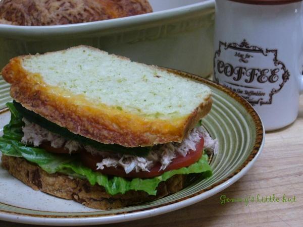 豌豆鮪魚三明治