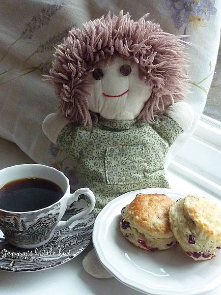 cutie coffee break~scone.jpg