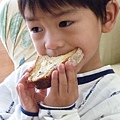 country bread and Joshua 024.JPG
