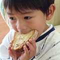 country bread and Joshua 020.JPG