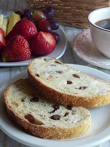 鄉村麵包早餐.JPG