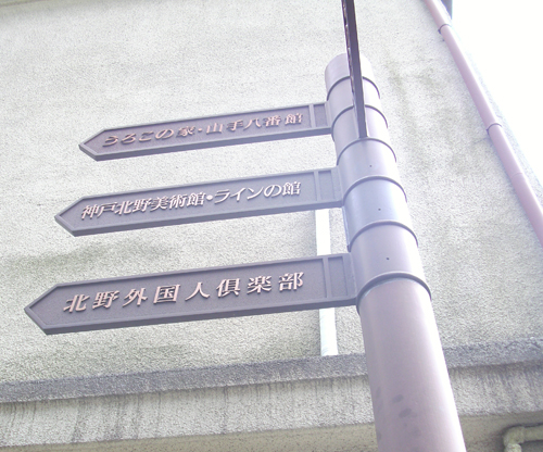 北野異人館路標.jpg
