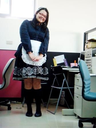 小柳今天是女僕