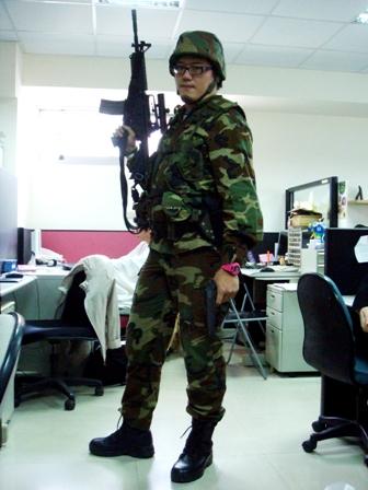 Jam今天是偽國軍