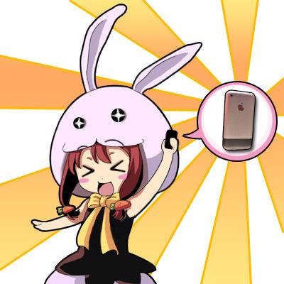 兔娘與iphone.jpg